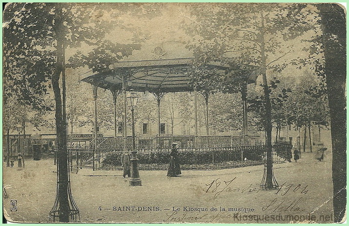 Saint-Denis kiosque 1