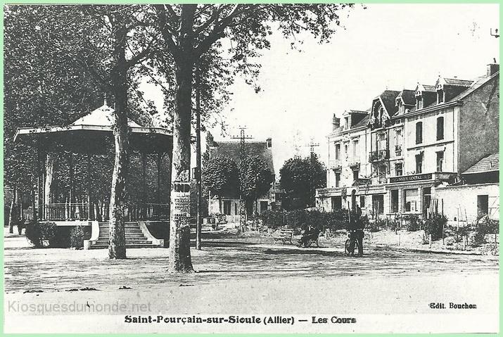 Saint-Pourçain kiosque 1