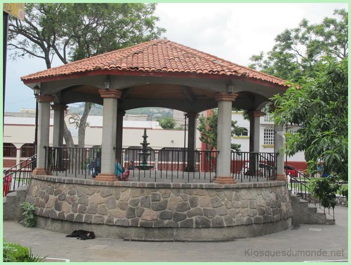 San Pedro Atocpan kiosque