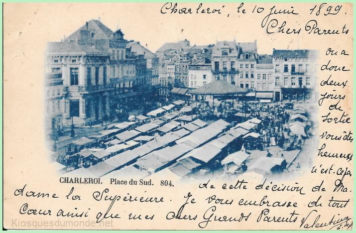 Charleroi (Ville Basse) kiosque 01