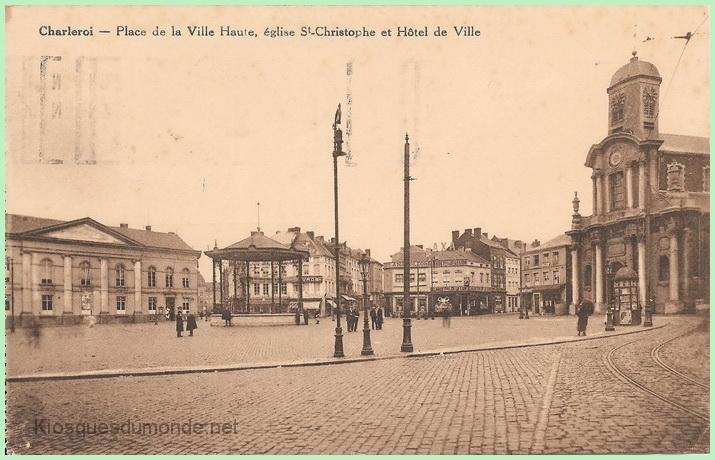 Charleroi (Ville Haute) kiosque 04