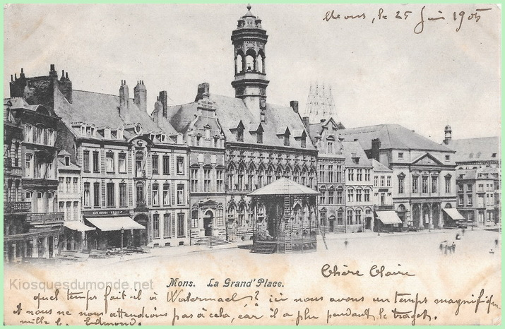 Mons (Grand-Place) kiosque 01