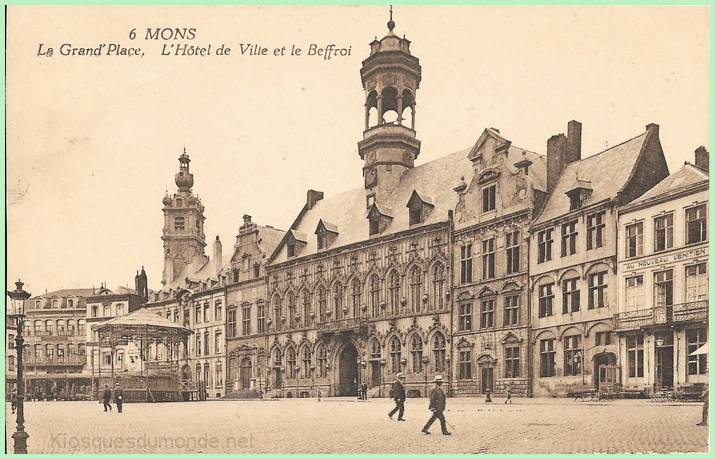 Mons (Grand-Place) kiosque 02