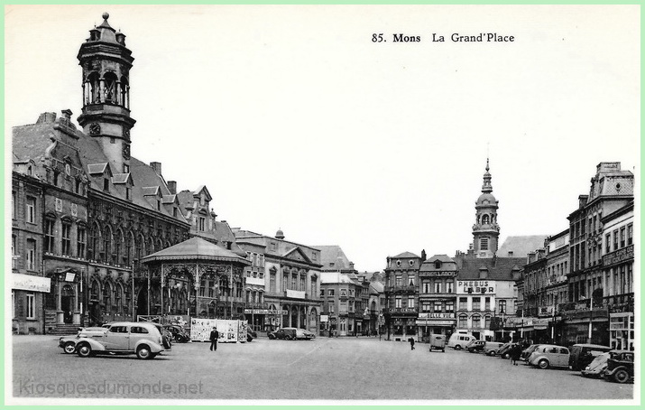 Mons (Grand-Place) kiosque 03