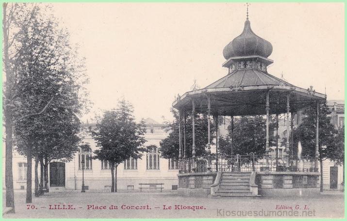 Lille (concert) kiosque