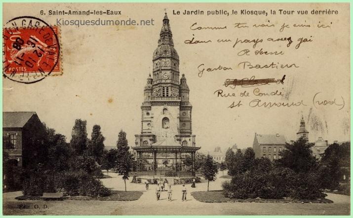 Saint-Amand-les-Eaux kiosque 01