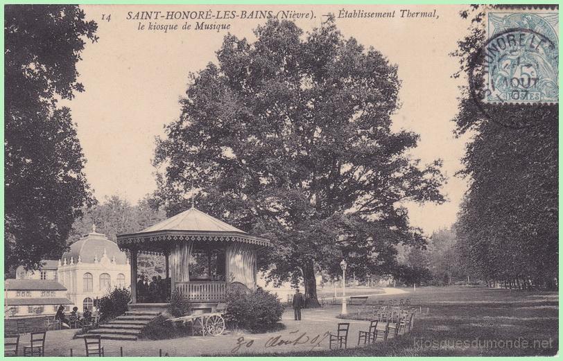 Saint-Honoré-les-Bains kiosque