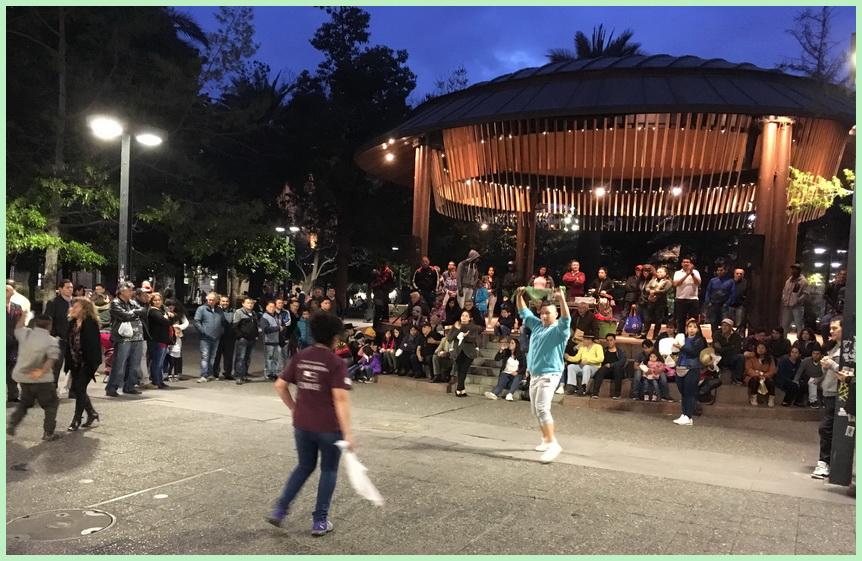 Santiago de Chile fête kiosque 03